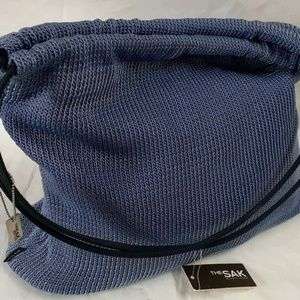 The Sak Purse Shoulder Bag Periwinkle Blue
